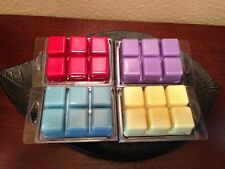 Lot of (10) 100 %Soy Wax tarts- Choose your scents + free shipping and handling