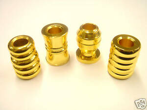 Set of 4 Brass Cigarette Snuffers *Excellent Quality*