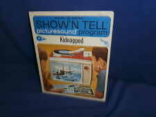 Vintage Ge Show'N Tell Kidnapped Picturesound Program 1965