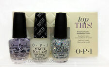 OPI - TOP THIS! Holiday Set 3pc x 0.5oz - TOP + MATTE + SNOWFLAKE IN THE AIR