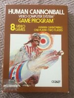Human Cannonball (Atari 2600) Original Box, Game & Instruction Booklet