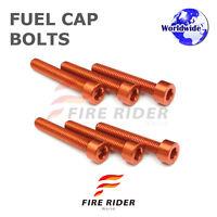 FRW Orange Fuel Cap Bolts Set For KTM 1290 Super Adventure 15-16 15 16
