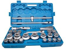 "Heavy Duty 26 PC 3/4"" y 1"" pulgadas Drive MÉTRICAS SOCKET SET 21mm a 65mm"
