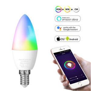 WiFi Smart Dimmable Bulb APP Remote Control Amazon Alexa/Google Home Compatible