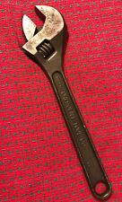 "15"" adjustable wrench Crescent Tool Co. Jamestown. USA Nice!"