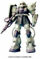 Hg 1/144 Ms-06J Zaku Ii Mobile Suit Gundam The 08Ms Platoon)