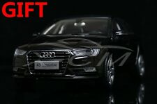 Car Model Audi A3 Limousine 1:18 (Black) + Small Gift!