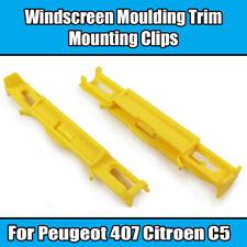 20x Clips for Peugeot 407 Citroen C5 Windscreen Moulding Trim Mounting 812398