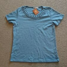 Anna Rose Size Medium M blue Short Sleeve T-Shirt