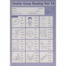 Hodder Group Reading Tests (HGRT) II: Test 1, Form A by Mary Crumpler, Denis...