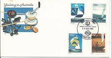 1981 Special Postmark Sydney-Hobart Yacht Race 29 Dec Pm 836 (1) on Cover
