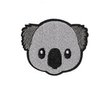KOALA Iron on / Sew on Patch Embroidered Badge Motif Animal Bear Australia PT426