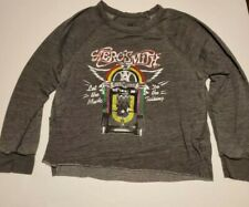 Aerosmith Let The Music Do The Talking Licensed Adult Shirt XL
