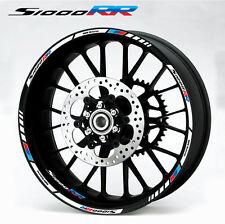 s1000RR BMW moto rueda pegatinas 12 para llanta set hp4 rayas Motorsport