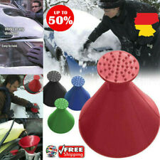 Magical Car Windshield Ice Snow Remover Scraper Tool Cone Shaped Round Funnels @