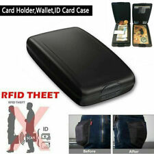 Aluminum RFID Blocking Wallet Slim Money Clip ID Credit Card Holder Case Purse