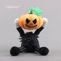 Novelty The Nightmare Before Christmas Jack Skellington Pumpkin Plush Keychain