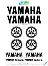 12 Adesivi Yamaha kit logo stickers yamaha R1 R6 TMax moto ricambi