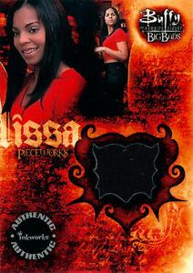 Buffy the Vampire Slayer Big Bads 2004 Pieceworks Card PW-7 Ashanti as Lissa