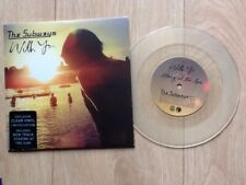 """THE SUBWAYS . WITH YOU . CLEAR VINYL 7"""""""