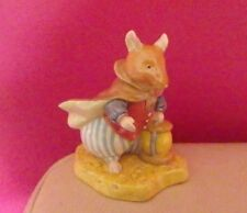 ROYAL DOULTON BRAMBLY HEDGE FIGURE - IN THE WOODS DBH 64 - BOXED - PERFECT !!