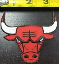 Chicago Bulls 3.5 inch Iron/Sew On NBA Patch~~FREE SHIPPING FROM THE U.S.~~