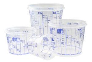 Lack-Mischbecher PVC, Größe nach Auswahl, 385, 750, 1400, 2300 ml