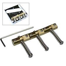 3 Telecaster compensée brass saddles pour Fender Telecaster vintage pont
