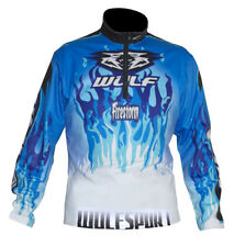 Kids Wulfsport Firestorm Trials Top Blue