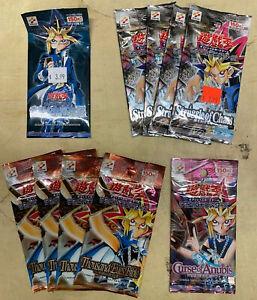 9 Yugioh TCG Trading Card Packs Japanese RARE 1 Legend of Blue Eyes white Dragon