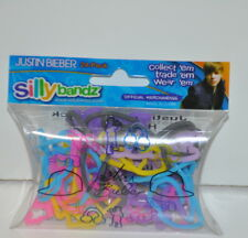 Justin Bieber Silly Bandz Shaped Rubber Bands Bracelets 24 Pack New