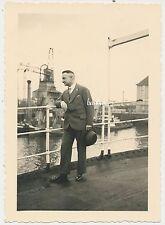 Foto Bremen Hafen-Schiff - 1936   (W220)