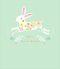 Hoppy Easter Wishes Cute Greeting Card Happy Easter Greetings Cards