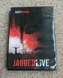 GARY NUMAN Jagged Live Region Free UK DVD