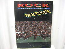 The Rock Arena Stadium Fakebook Sheet Music Song Book Songbook