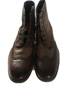 Ted Baker Size 9 Boots Brogue Ankle Mens
