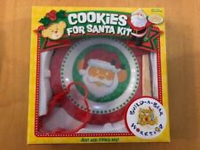 Build A Bear Cookies For Santa Kit Plate Spatula And Cookie Cutter BABW NIB