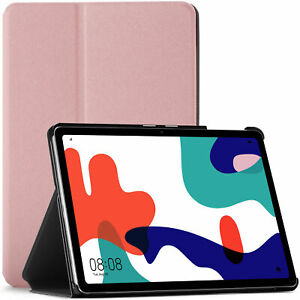 Huawei MatePad 10.4 Case Cover Stand, Auto Sleep Wake by FC - Rose Gold + Stylus
