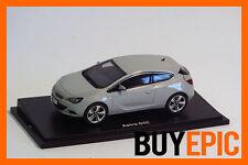 Motorart Opel Astra J GTC, Mineralweiß, Sea Shell, Modellauto 1:43, Dealer, NEU