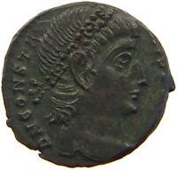ROME EMPIRE CONSTANTINUS FOLLIS SOLDIERS STANDARD #t136 521