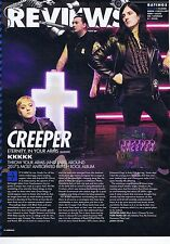 CREEPER - ETERNITY IN YOUR ARMS REVIEWorIginal press clipping20x28cm