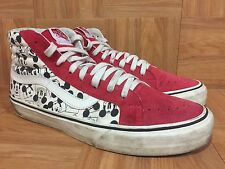 RARE🔥 VANS VAULT Originals OG Disney Sk8-Hi LX Mickey Mouse Square Sz 11 High S