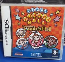 Super Monkey Ball Touch & Roll DS NEW / SEALED