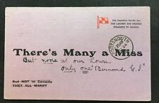 More details for rare unusual vintage postcard - #c4 - canadian pacific
