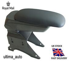 BLACK ECO LEATHER PADDED ARMREST CENTER FIT FOR VAUXHALL OPEL ASTRA H 2005 NEW