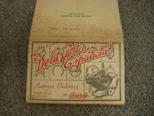 DELA FIESTA ESPANOLA OLD POSTCARD BOOKLET x 10 BULLFIGHTING ANTONIA ORDONEZ 1932