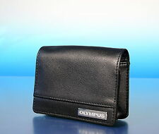 Olympus Case Mju µ 9000 leather case Ledertasche étui en cuir neu new - (92549)
