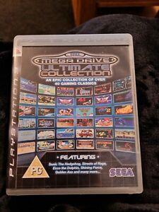 Sega Mega Drive Ultimate Collection Playstation 3 PS3