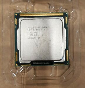 Intel i7 870 - 2.93GHz Socket 1156 - Removed From iMac Mid-2010
