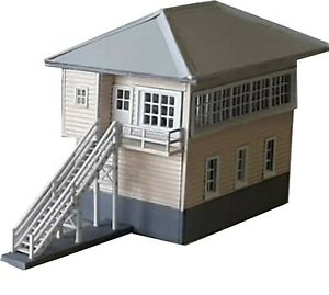 Goulburn North Signal box HO Scale 1/87